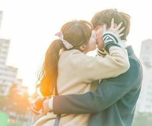 kiss, kdrama, and cute image