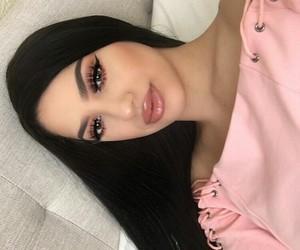 makeup, make up, and style image