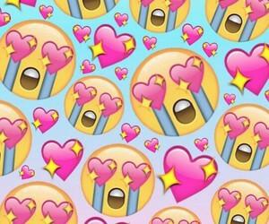 emoji, wallpaper, and heart image