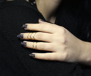 etsy, stackable ring, and stacking ring image