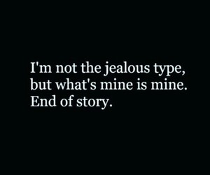 english, jealous, and quotes image