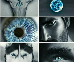 teen wolf, blue, and derek hale image