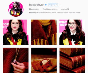 harry potter, red velvet, and RV image