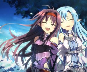 sword art online, anime, and asuna image