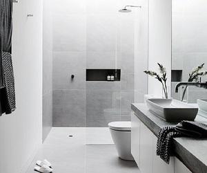 bathroom, modern, and urban image