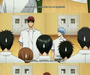anime, funny, and knb image