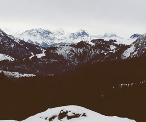 landscapes, winter, and mountains image