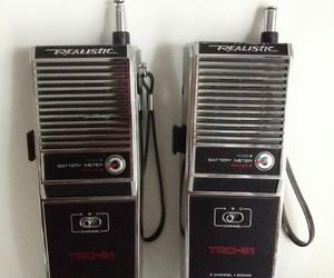 radio and vintage image