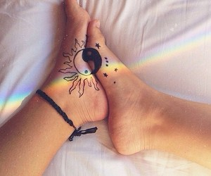 colorful, colors, and feet image