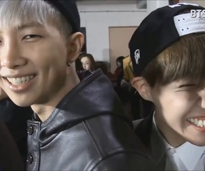 bts, rap monster, and j-hope image
