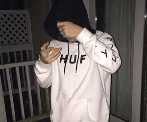 boy, aesthetic, and cigarette image