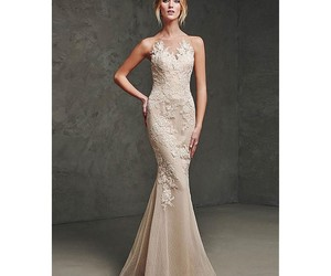 dress, mermaid, and neckless image