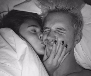 stefanie giesinger, black and white, and couple image