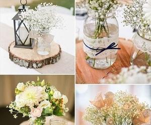 wedding, flowers, and diy image