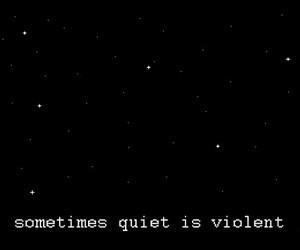 stars, violent, and dark image