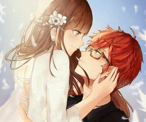 mystic messenger, 707, and Mc image