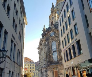 city, dresden, and town image