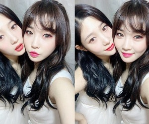 ioi, chaeyeon, and chungha image