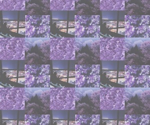 background, purple, and Collage image