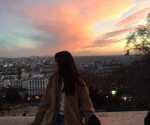 ulzzang and sunset image