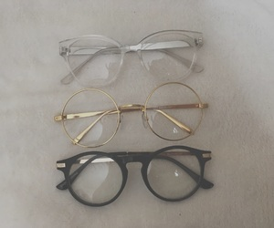 glasses, gold, and mine image