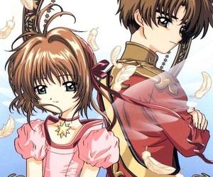 shaoran, sakura, and sakura card captor image