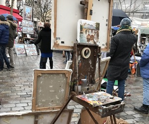 art, france, and montmartre image