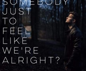 martin garrix, scared to be lonely, and Lyrics image