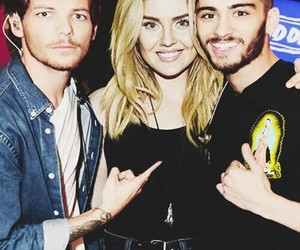 zayn malik, louis tomlinson, and perrie edwards image