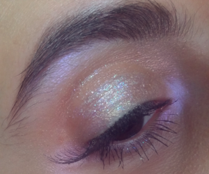 beauty, editorial, and glitter image