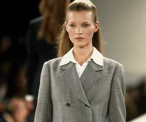 kate moss, model, and runway image