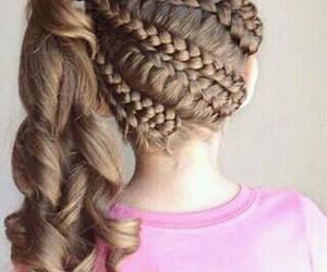 belleza, peinados, and estilo image