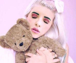 melanie martinez, teddy bear, and cry baby image