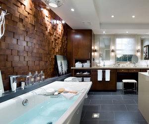 luxury, bathroom, and home image