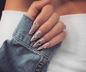 design, nails, and fashion image