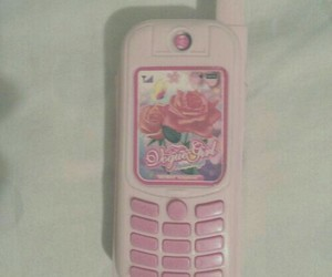 pale, phone, and pink image