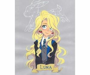 books, fanart, and luna image