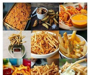 food, funny, and fries image
