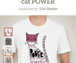 cat power, fundraiser, and girl power image