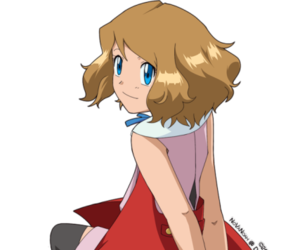 anime, pelo corto, and pokemon image