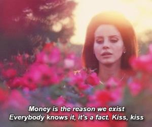 lana del rey, money, and national anthem image