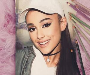 draw and ariana grande image