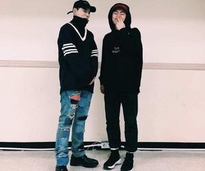 dean, deantrbl, and kwon hyuk image