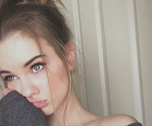 beautiful girl, boho, and eyebrows image