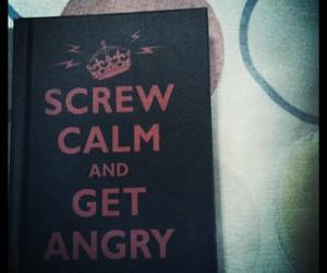 anger, angry, and book image