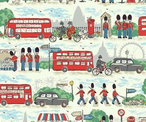 background, cath kidston, and london image