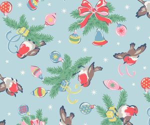 background, cath kidston, and christmas image