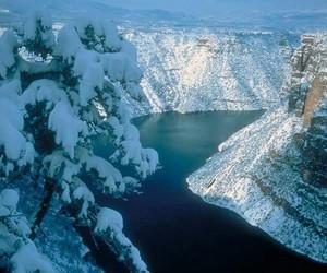 beauty world scenery snow image