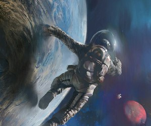 space and art image