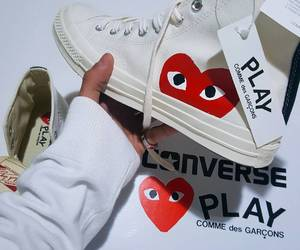 converse, play, and shoes image